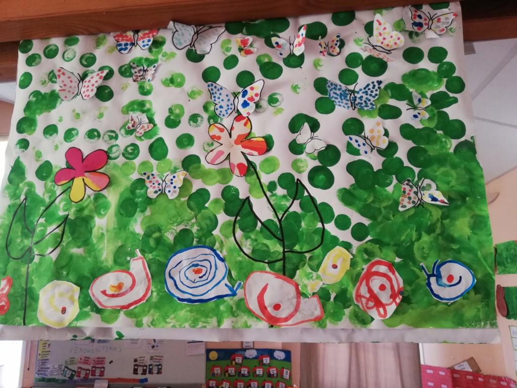 Le Printemps En Art Visuel Ecole Le Donjon Sigournais
